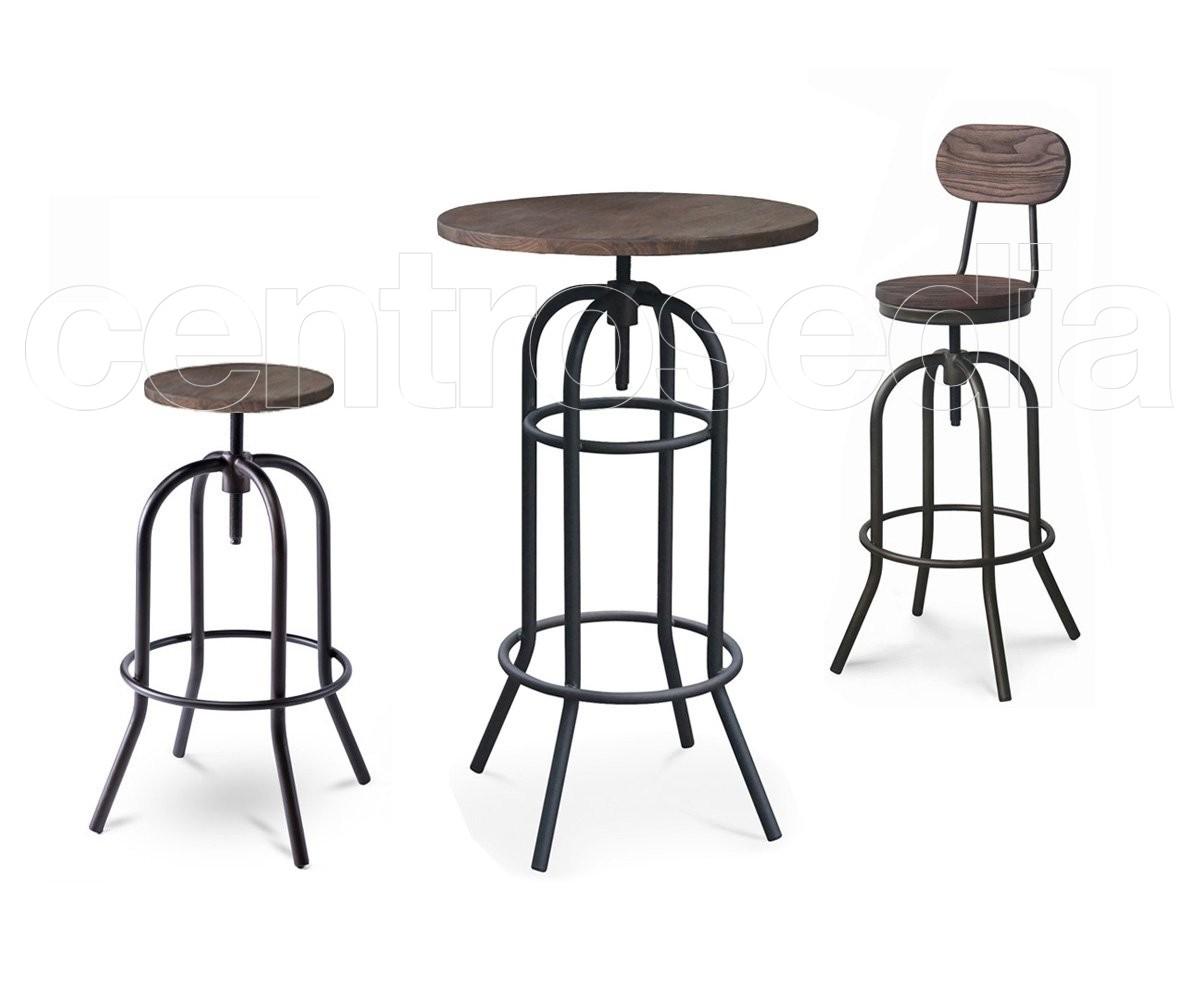 Texas tavolo alto metallo old style tavoli alti vintage e