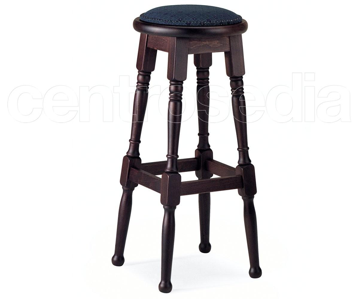 Parker sgabello alto legno old america sgabelli legno classico e