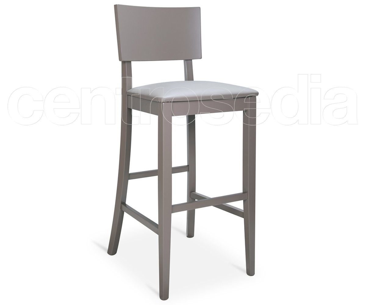 Sven sgabello legno seduta imbottita sgabelli bar ristoranti